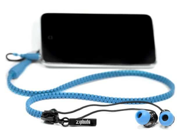 zipbuds anti tangle earphones