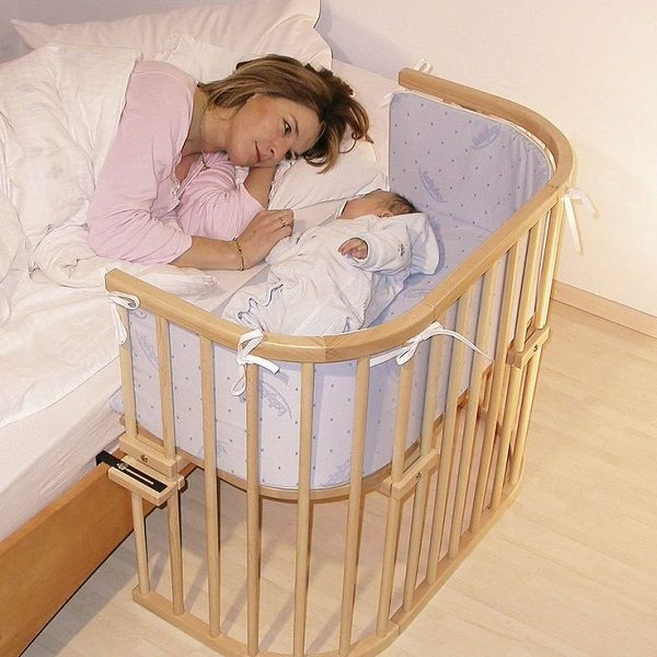attachable baby cots