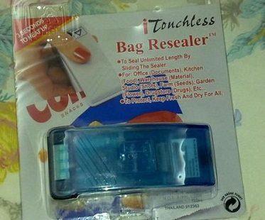 bag re-sealer pack