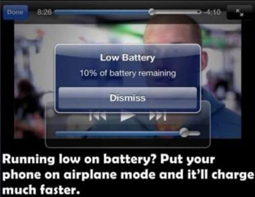battery charging phone