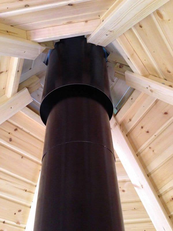 bbq hut roof