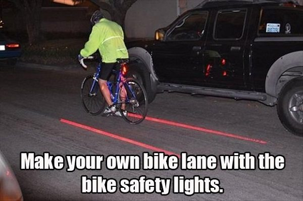 bike lane light