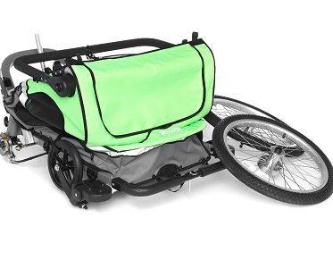 bike stroller folded
