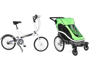 bike stroller separated