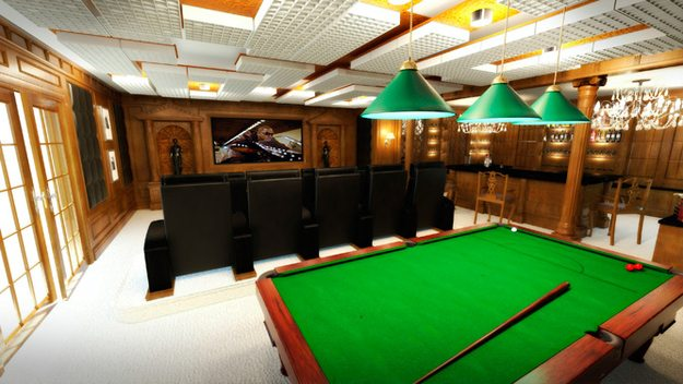 billiard-club-home-theater