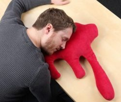 blood pool pillow