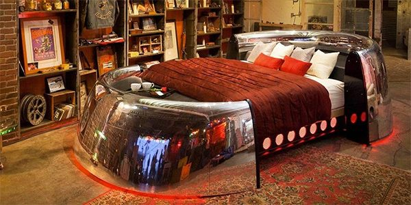 Boeing 747 Bed