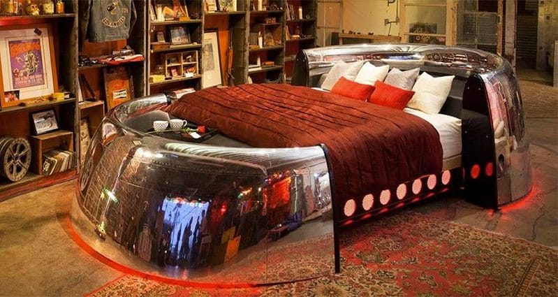 Coolest Bed Delectable Possibly The Coolest Bed In The World Decorating Inspiration