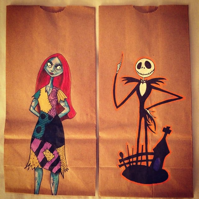 Artistic Mother Draws Epic Designs On Her Childrens Lunch Bags