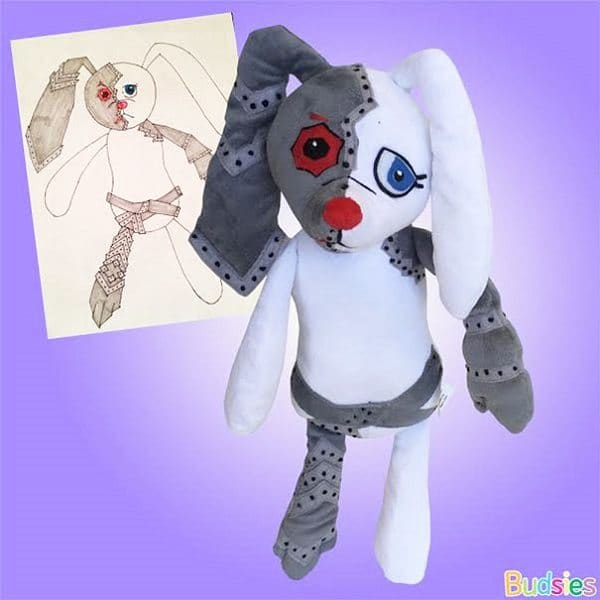 budsies-plush-toys-children-drawings-armor rabbit