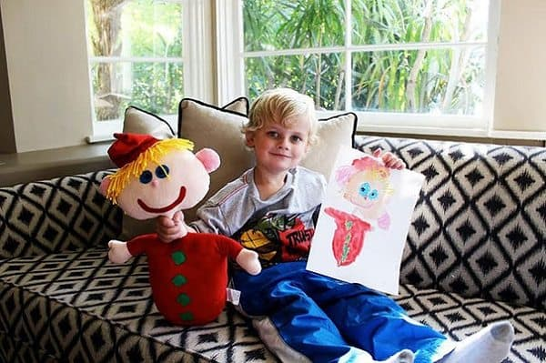 budsies-plush-toys-children-drawings-boy sitting
