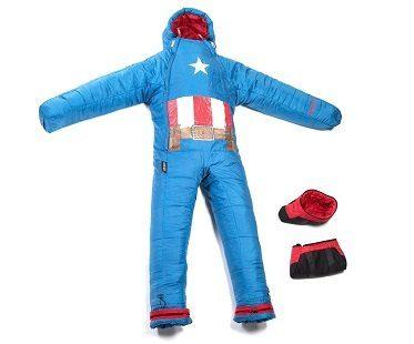 captain america Wearable Sleeping Bag boots