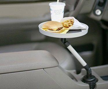 car swivel tray food