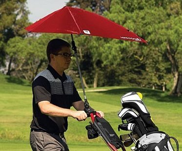 clampable umbrella