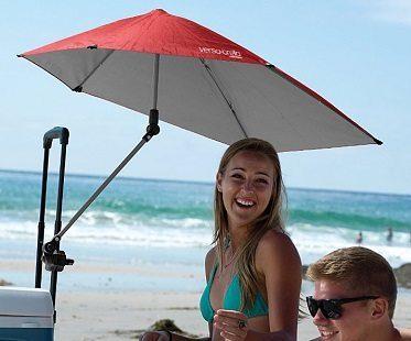 clampable umbrella beach