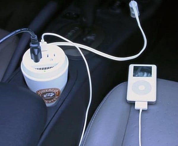 coffee cup charger