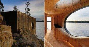coolest sauna