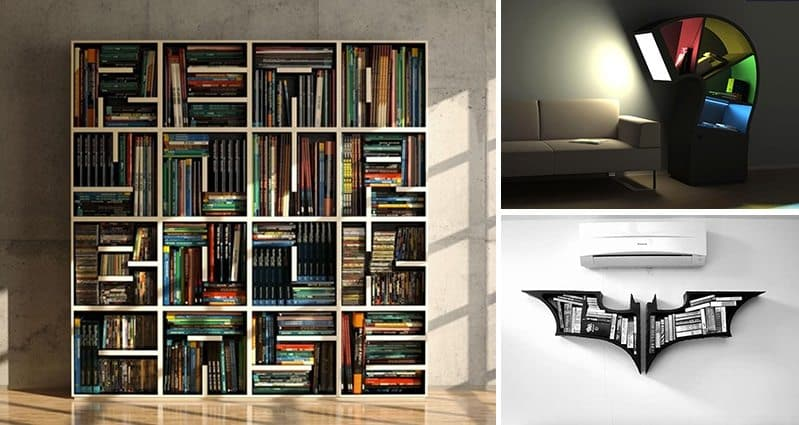 creative bookshelf designs every reader would love