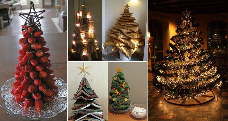 20 creative christmas tree ideas you will love Creative christmas trees to make