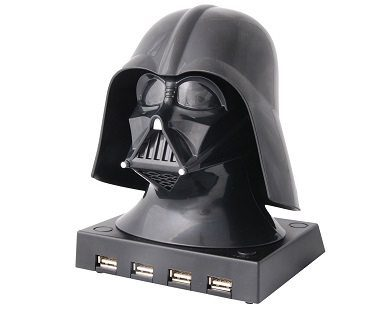 darth vader usb hub 4 port
