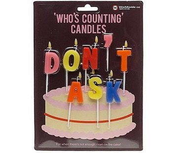 don't ask birthday candles pack
