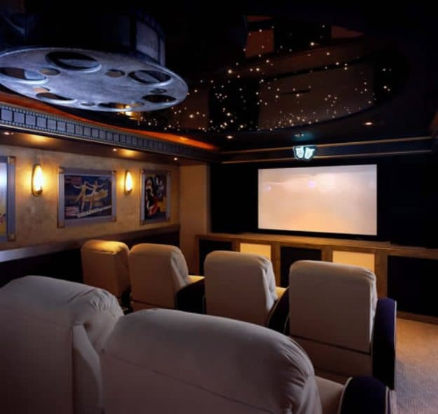 21 Incredible Home Theater Design Ideas Decor Pictures: 25 Amazing Home Theaters Anyone Would Love To Own