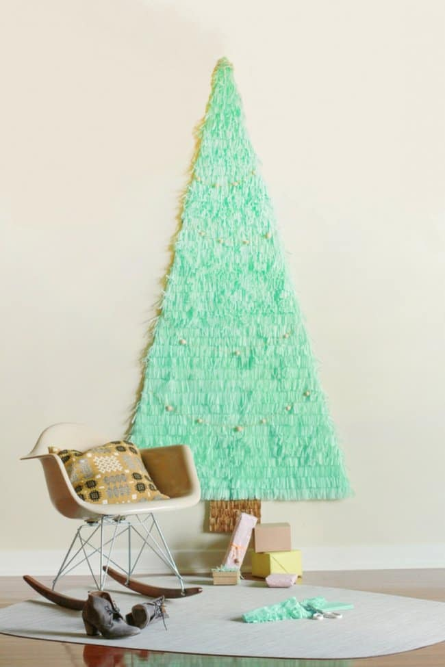 excellent-wall-mounted-christmas-tree