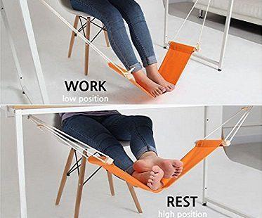 foot hammock positions