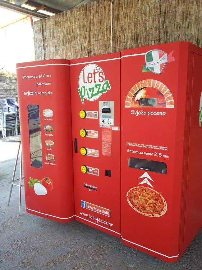 fresh pizza vending machine