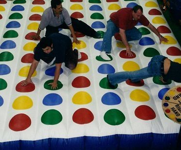 giant inflatable twister adults