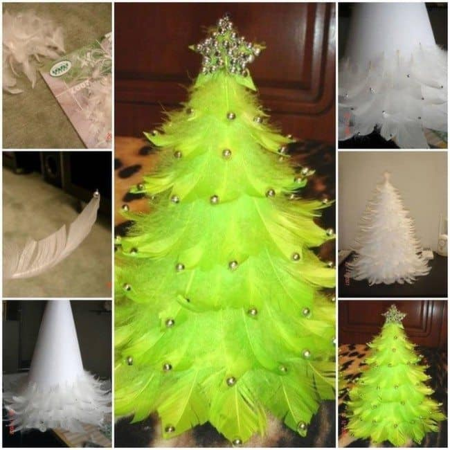feather-christmas-tree
