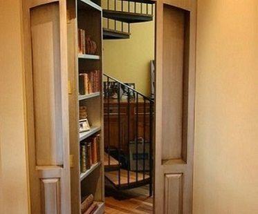 hidden door kit bookshelf