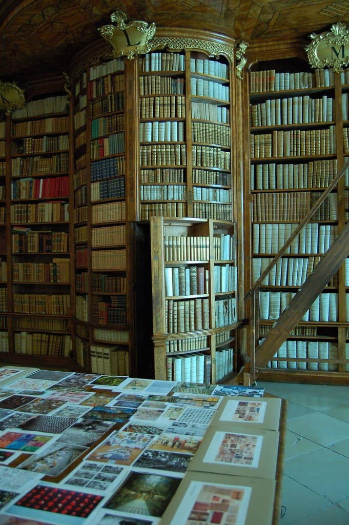 super tall bookcases with hidden door