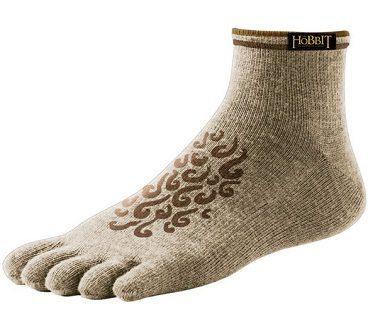 hobbit feet sock