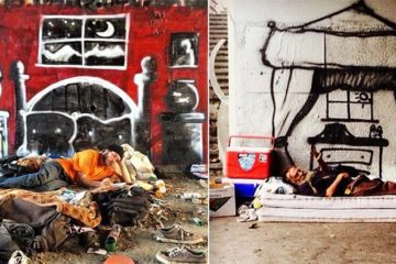 homeless-street art