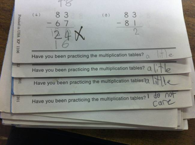 20 Brilliant Test Answers Given By Kids Some Of These Are