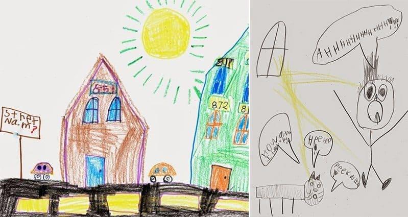 kid draws song name