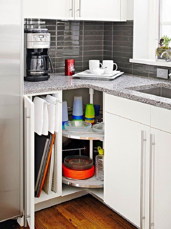 Breakfast Corner Kitchen Storage