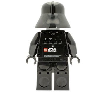 lego darth vader alarm clock back