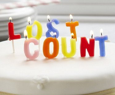 lost count birthday candles close