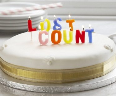 lost count birthday candles
