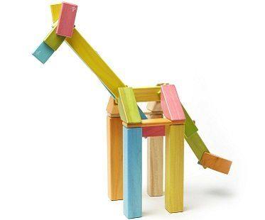 magnetic wooden blocks giraffe