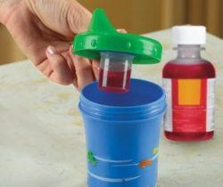 medicine dispensing sippy cup