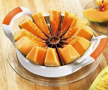 melon slicer canteloupe