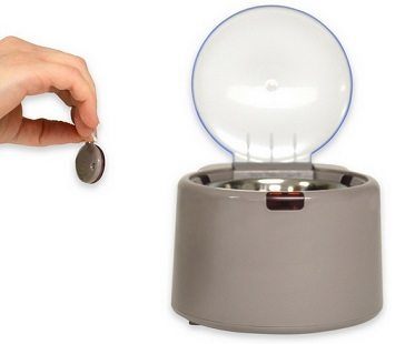 microchip activated pet feeder chip