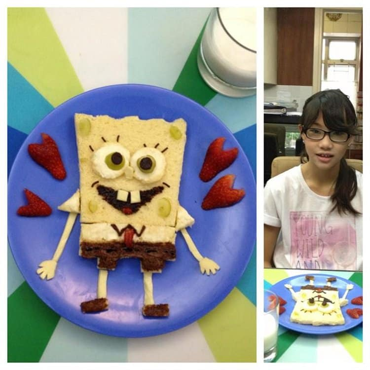 mom-food-art-sponge-bob