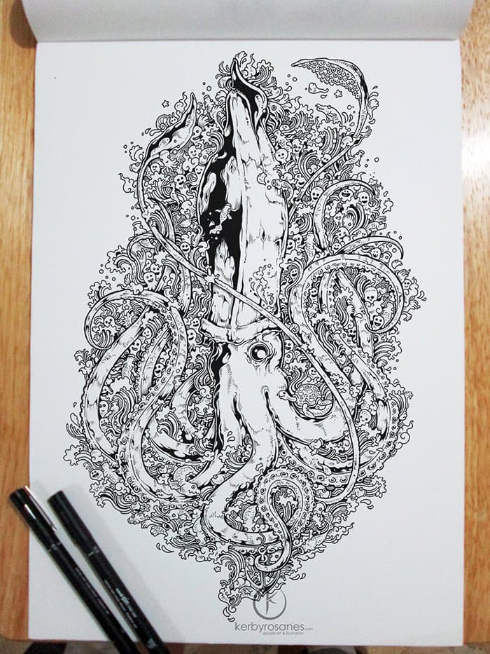 octopus kerby rosanes