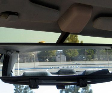 panoramic rear view mirror close