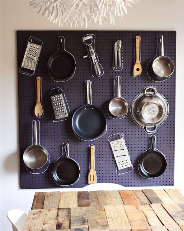 pegboard utensils