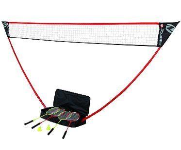 portable badminton set game